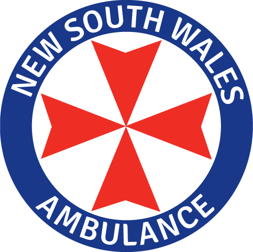 NSW Ambulance Roundel Transparent RGB